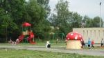 Okostábla és játszópark átadás