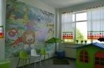 Játszószoba a kézdivásárhelyi kórház gyerekosztályán