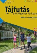 Tájfutás a W.Wegener Parkban
