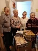 Donații pentru casele de bătrâni