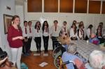 Children's Choir at the nursery home